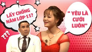 Quyền Linh ngỡ ngàng với cô gái Bình Thuận quyết tâm lấy chồng bất chấp mới học lớp 11 🤗