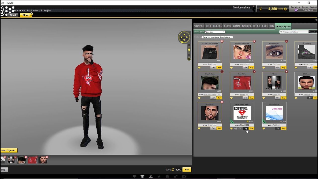 How to get naked on imvu🙊🙈 - YouTube