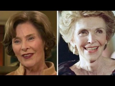 Laura Bush remembers Nancy Reagan