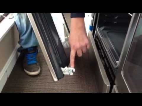 Install Maytag Oven Door After Removal Youtube