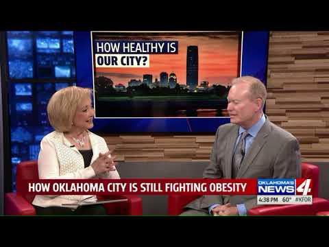 How healthy is Oklahoma City?