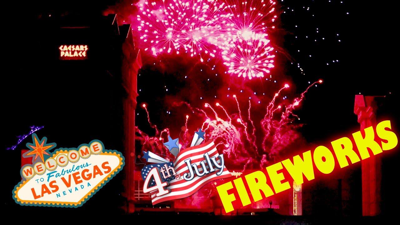 Las Vegas Strip 4th of July Fireworks ~ WSOP visit. VLOG ...  4th