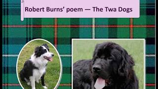 The Twa Dogs Poem