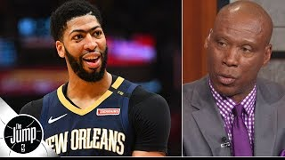 Anthony Davis absolutely made the right decision by requesting a trade - Byron Scott | The Jump