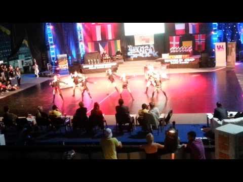 Paradise Karsin ! Rock Girls - Mistrzostwa Świata Czech Republic 2014
