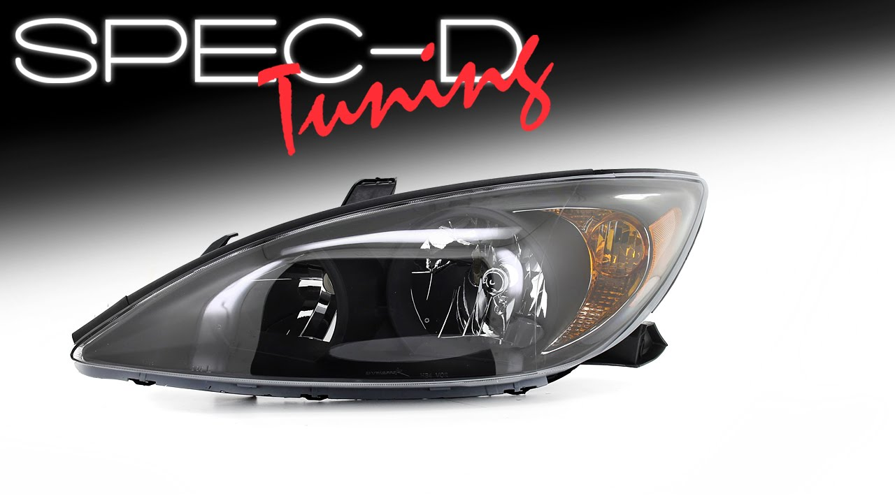 Specdtuning Demo Video 2002 2004 Toyota Camry Headlights