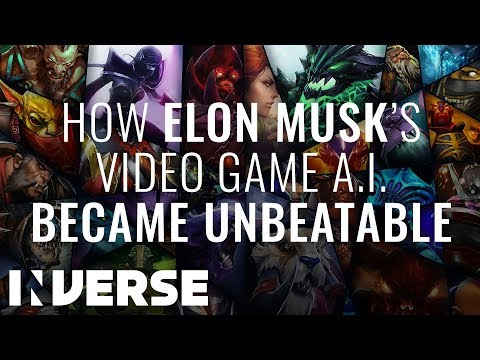"How Elon Musk's A.I. Destroyed The World's Best Gamers in ""DoTA 2'"