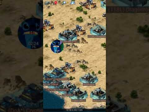 Mobile Strike : Map icon how to use