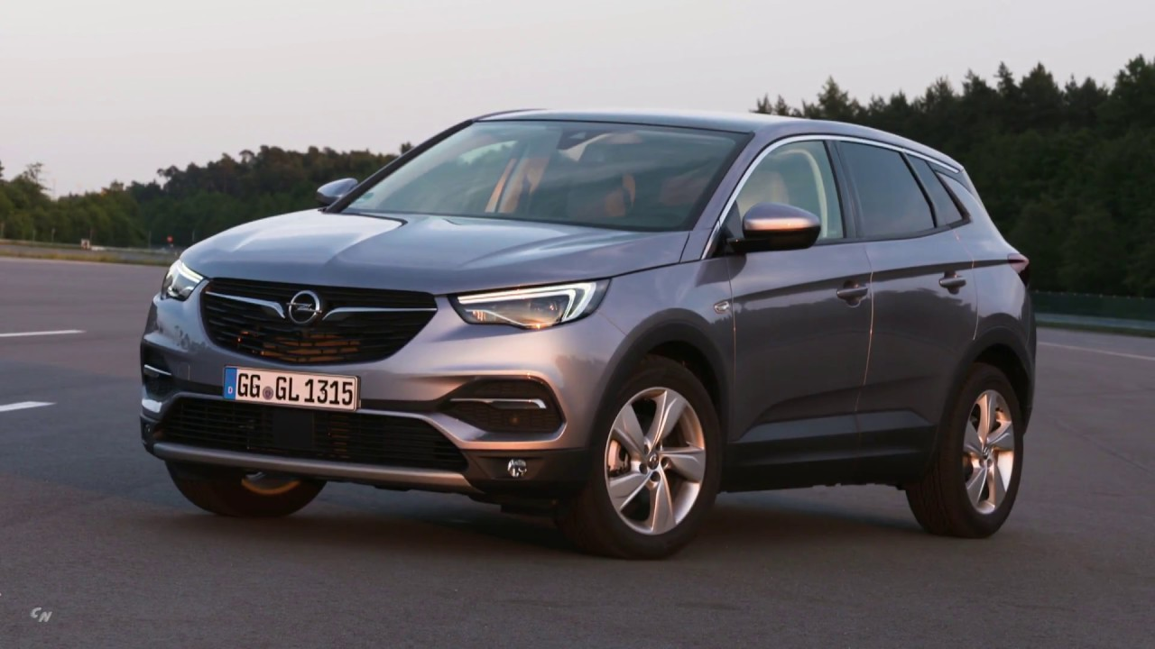 2019 Opel Grandland X Drive And Design Youtube