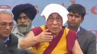 "Dalai Lama(The lie Lama) lied ""Buddha was an Indian""."