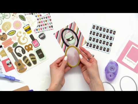 How To Create Frames With Nested Oval Dies