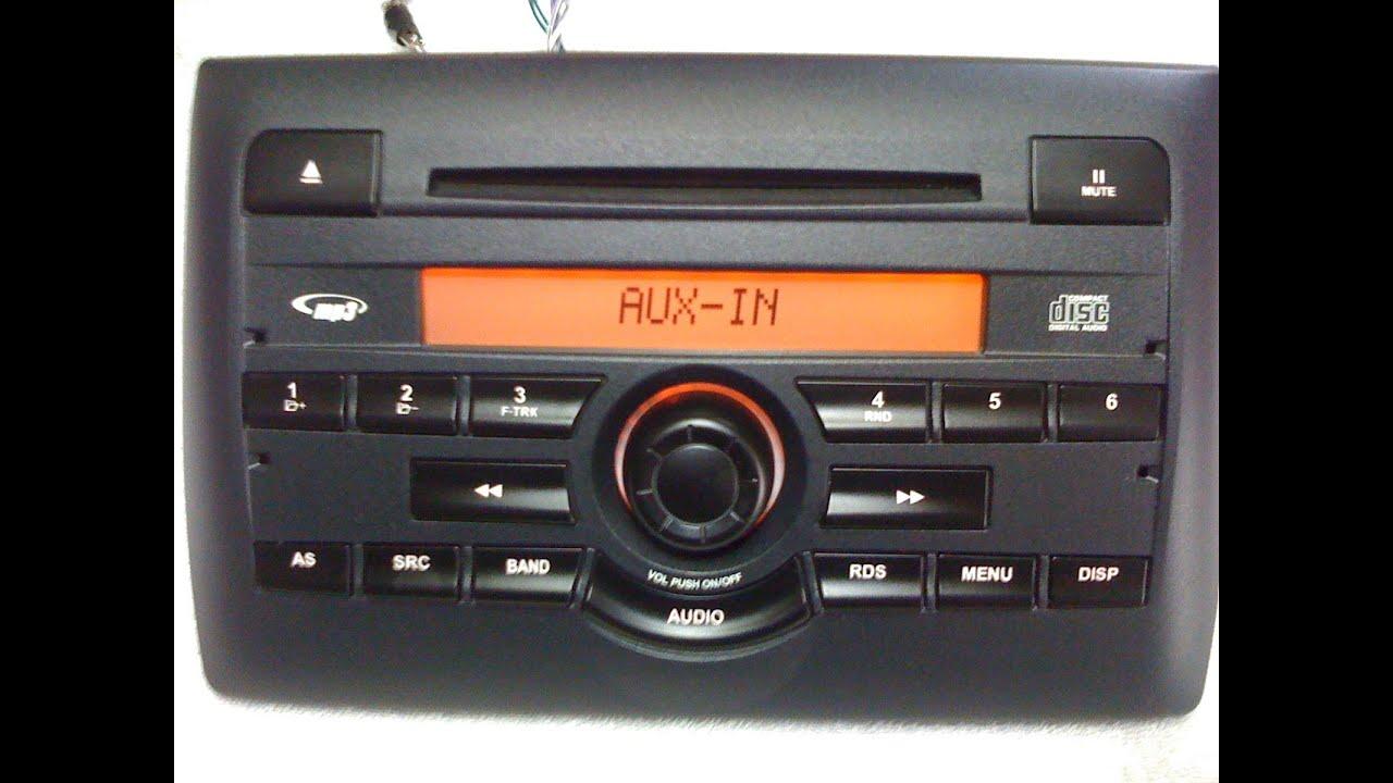 fiat stilo radio cd mp3 original youtube rh youtube com Fiat Stilo 2003 Fiat Stilo Tuning