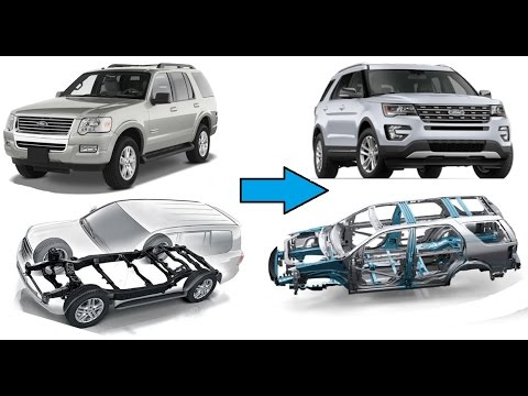 Body-On-Frame SUVs which are now actually Crossovers! - YouTube