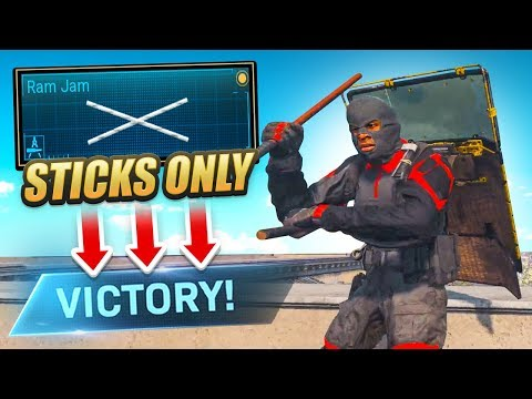 WINNING with KALI STICKS ONLY in WARZONE