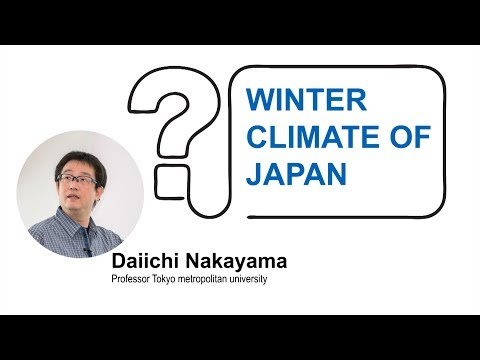 Winter climate of Japan