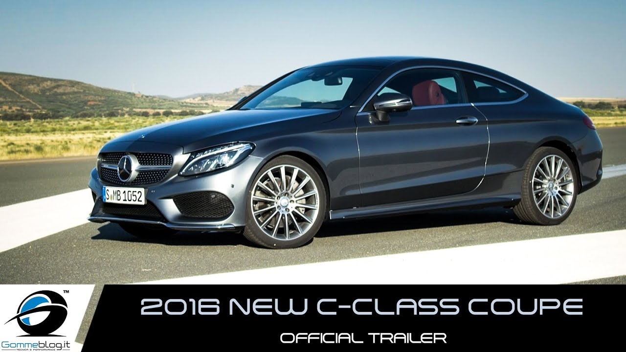 new 2016 mercedes c class coupe official trailer youtube. Black Bedroom Furniture Sets. Home Design Ideas