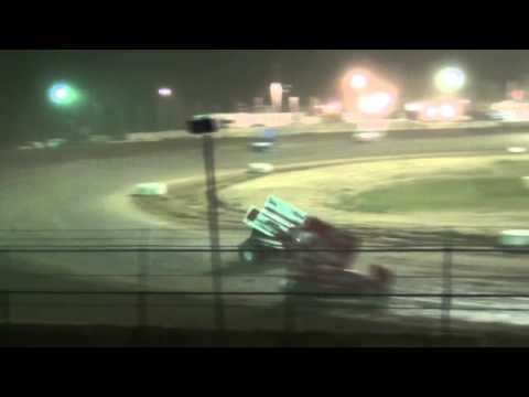 Carmen Manzardo in the 8a, A Main Wilmot Raceway 5/23/15