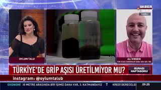 2020-09-13 - TEİS - HaberTürk - Grip ve Zatürre Aşıları - Ecz Ali Erdem