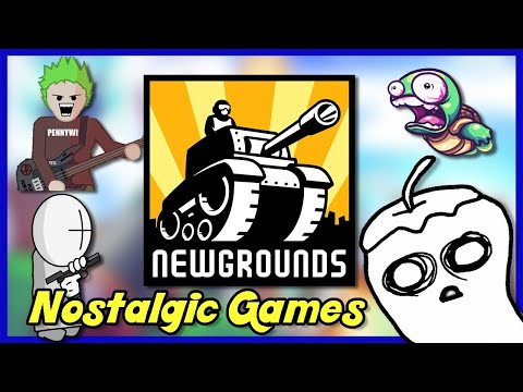 NEWGROUNDS | Nostalgic Games - [Highlights]