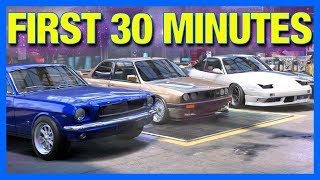 Need for Speed HEAT : First 30 Minutes of Gameplay!! (Full Game)