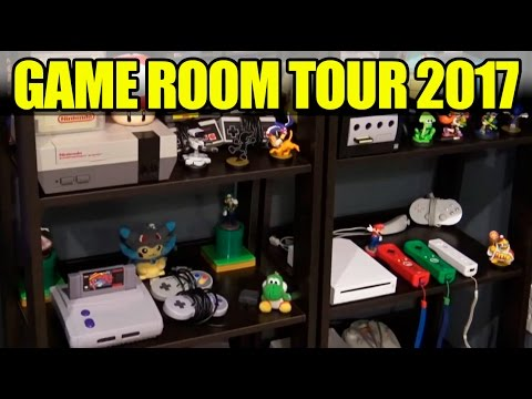 Video Game Room Tour 2017