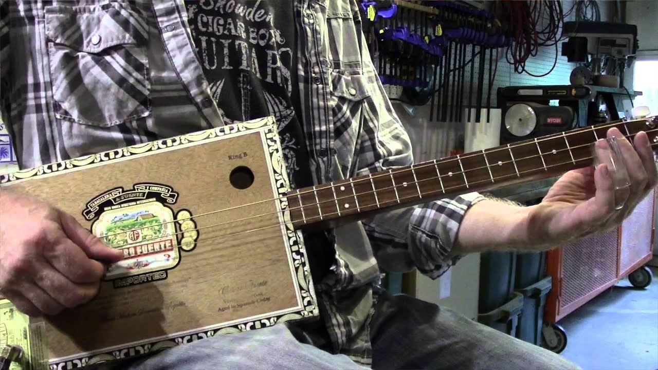 how to play chicken coop blues cigar box guitar mike snowden youtube. Black Bedroom Furniture Sets. Home Design Ideas