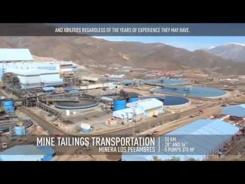 ANDRITZ AUTOMATION - Simulation solutions for Minera Los Pelambres, Chile (spanish/english subt.)es)