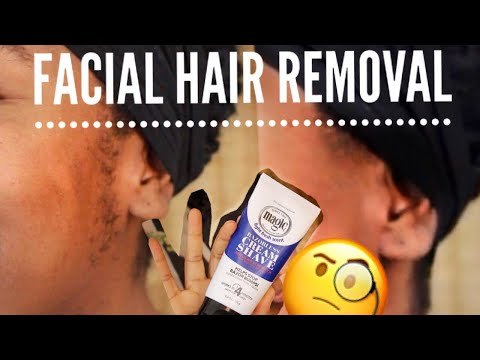 At Home Women S Facial Hair Removal Cream Easy Pain Free Cheap
