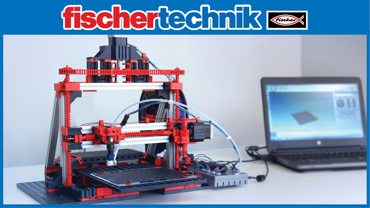 fischertechnik 3d printer 3d drucker trailer youtube. Black Bedroom Furniture Sets. Home Design Ideas