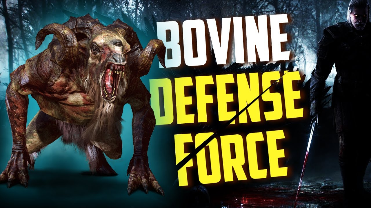 Chort - The Cow Monster! How To Spawn And Kill It! (Bovine Defense Force) | Witcher 3