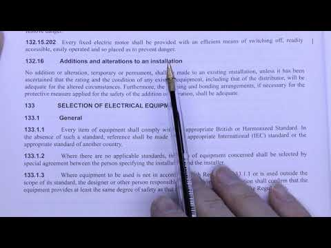 Electrical Certificates Part 1 - Overview and Minor Works
