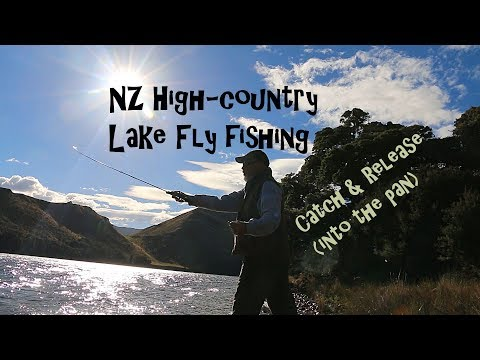NZ High country lake fly fishing. Catch n Cook