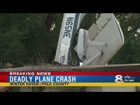 Plane crashes into Winter Haven home