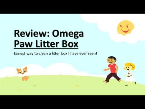 Review - Omega Paw Litter Box