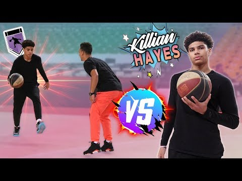 J'AFFRONTE KILLIAN HAYES ! (NBA PROSPECT 2020)