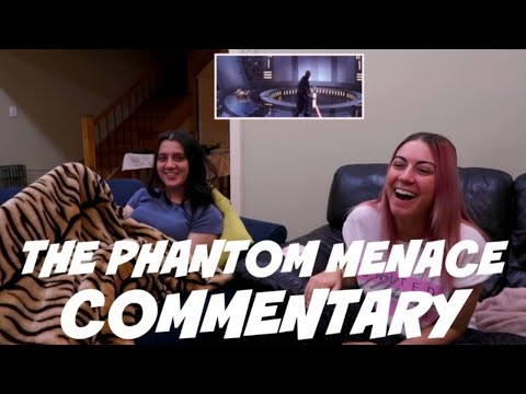 Play THE PHANTOM MENACE & I have a love/hate relationship | Feat. Emily | Movie Commentary