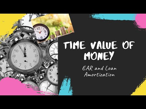 tvm 4 EAR and loan amortization