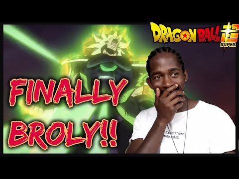Dragon Ball Super: Broly Movie Trailer REACTION | BROLY IS IN DRAGON BALL SUPER?! | IS BROLY CANON?