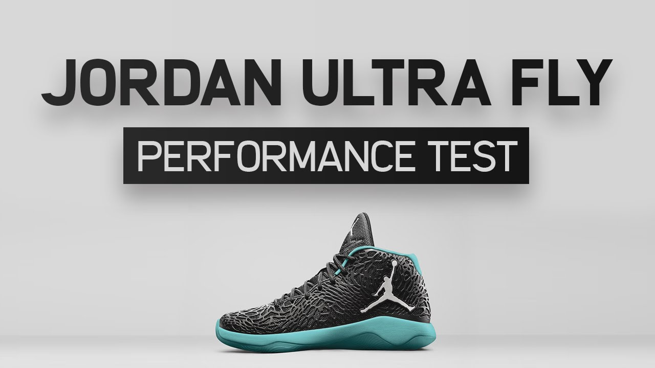 18b040f4f37d83 Jordan Ultra Fly Performance Test - YouTube