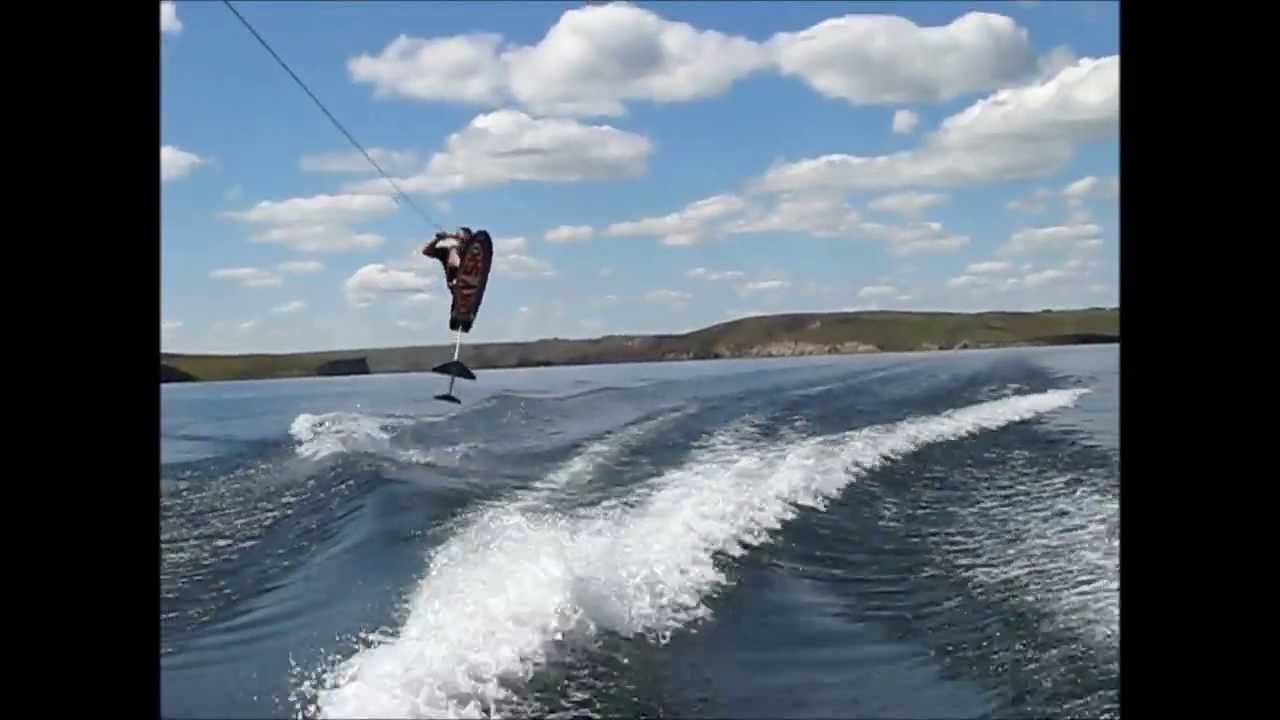 Gutsy air chair flip over dock mike murphy on hydrofoil waterskiing - Gutsy Air Chair Flip Over Dock Mike Murphy On Hydrofoil Waterskiing 8