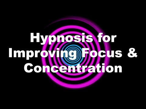 Hypnosis for Improving Focus & Concentration
