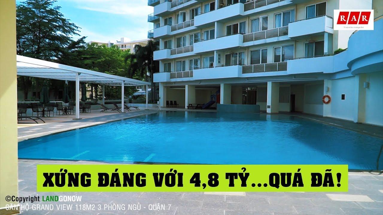 Căn hộ Grand View 118m2 3 phòng ngủ – Phú Mỹ Hưng, Quận 7 ✔