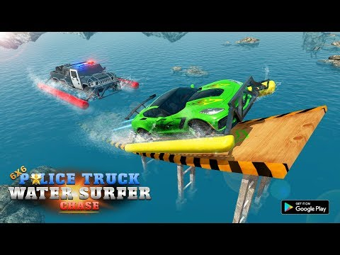 Police Truck Water Surfing Gangster Chase - Apps on Google Play