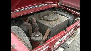 Машина на дровах - сделано в Донецке