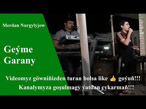 Merdan Nurgylyjow Geýme Garany  ( Awaza ) 2019 ý