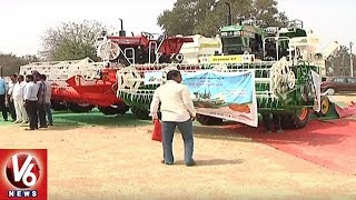 Special Story On Telangana Agriculture Department's Farm Mechanization Scheme | V6 News