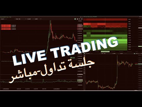 LIVE TRADING / Orderflow/volume profile / pumps  جلسة نعنع احمد شديد