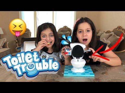 تحدي المرحاض ! مع روان وريان ! 🚽😳| 💦😳!Toilet Trouble Challenge