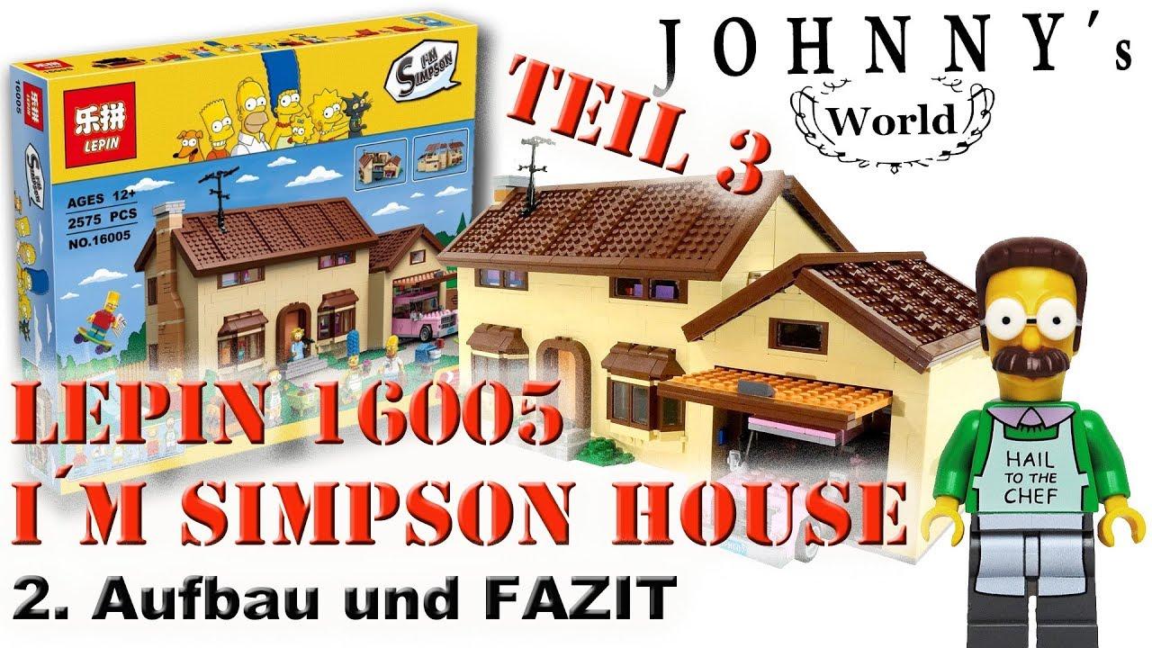 Teil 3 Lepin 16005 The Simpsons House Aufbau U Fazit Review Auf