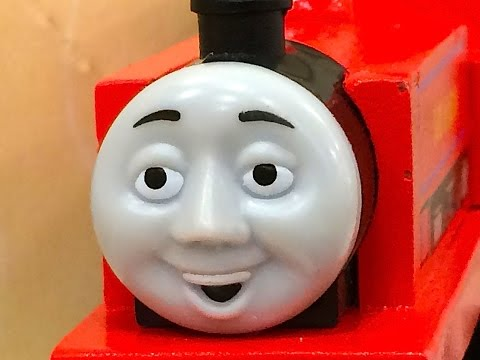 Thomas & Friends IVO HUGH Wooden Railway Toy Train Review By Mattel Fisher Price Character Friday